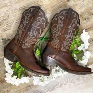 ARIAT Legend Western Boots Square Toe Leather